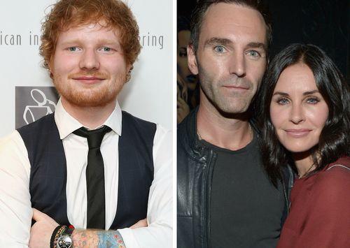 Ed Sheeran und Courteney Cox sind eng befreundet