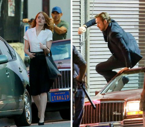"""Emma Stone und Ryan Gosling drehten nun Szenen für """"La La Land"""""""