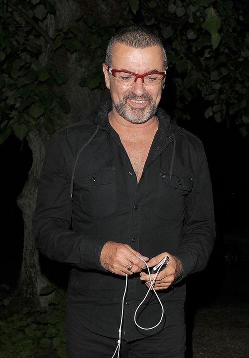 George Michael geht es wieder blendend
