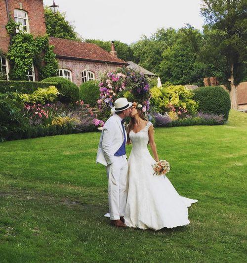 Jacqui Ainsley und Guy Ritchie haben am Donnerstag geheiratet