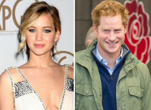 Jennifer Lawrence hatte keine Lust auf ein Date Prinz Harry