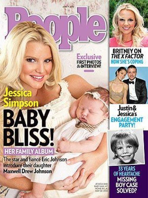 Jessica Simpson zeigt nun zum ersten Mal ihr Töchterchen Maxwell der Öffentlichkeit