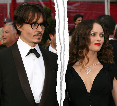 Johnny Depp und Vanessa Paradis haben sich getrennt