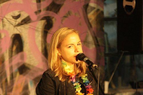 Julia Engelmann tritt regelmäßig beim Poetry Slam auf