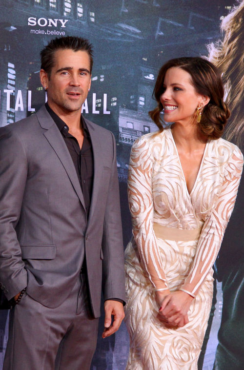 Kate Beckinsale und Colin Farrell kamen zur &quot;Total Recall&quot;-Premiere nach Berlin