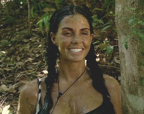 Katie Price trat im britischen Dschungelcamp an
