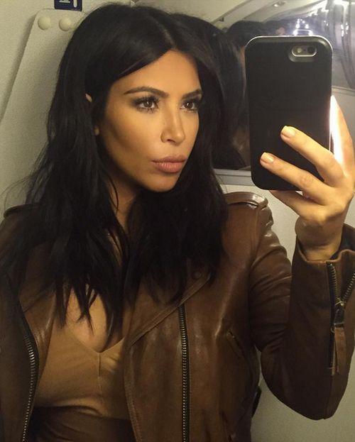 Kim Kardashian ist DIE Selfie-Queen und zeigt es auch ganz offen
