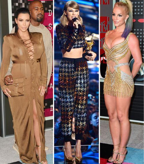 Bei den VMAs gab es Outfit-Tops wie -Flops