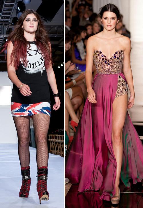 Kylie und Kendall Jenner waren als Models auf der New York Fashion Week zu sehen