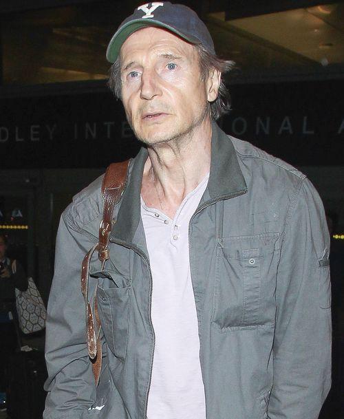 Weil Liam Neeson furchtbar erschöpft und mager aussieht, wird eine Erkrankung vermutet