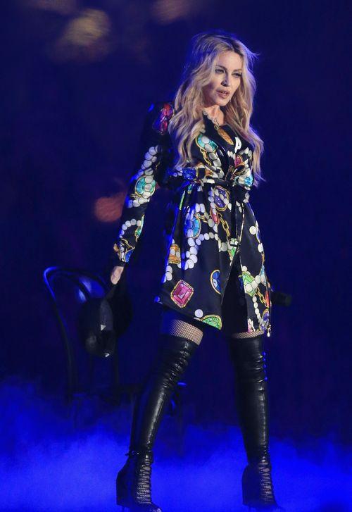 Madonna ist aktuell auf großer Tour