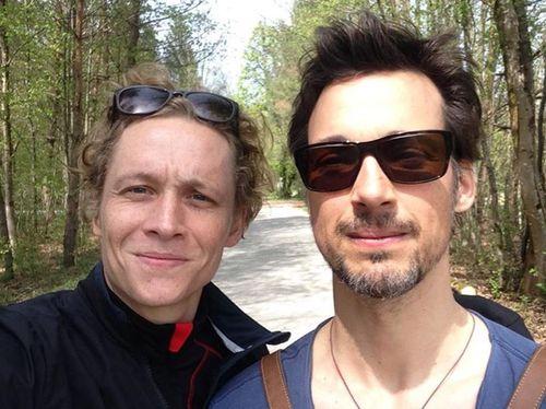 Matthias Schweighöfer und Florian David Fitz verstehen sich prächtig