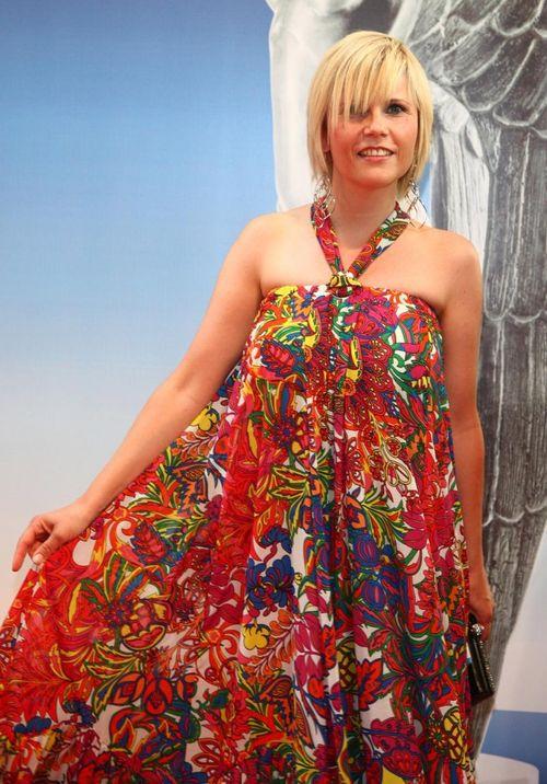 Michaela Schaffrath kam im Hippie-Look