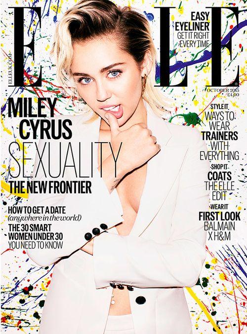 Miley Cyrus ziert die Oktober-Ausgabe der ELLE UK
