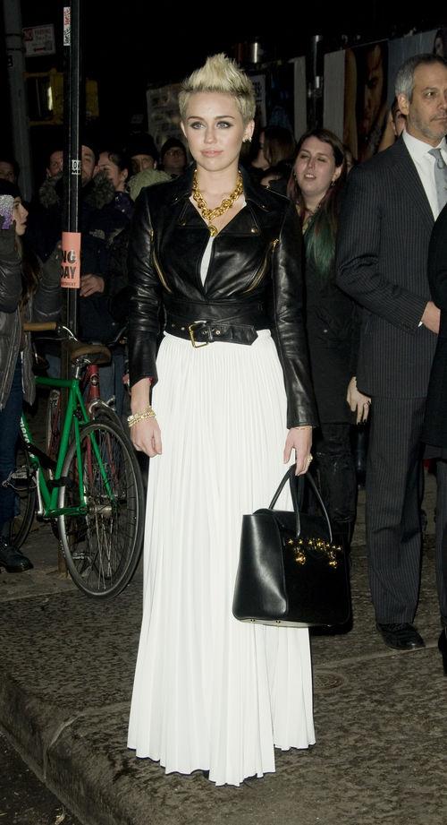 Miley Cyrus mag ihre Lederjacke