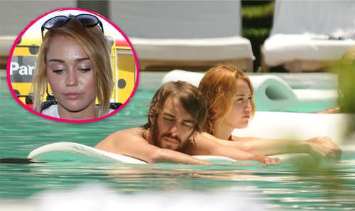 Miley verbrachte ein wenig Zeit mit einem Freund