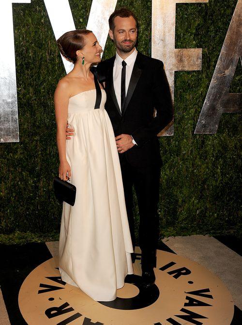 Natalie Portman kam mit ihrem Mann zur Vanity Fair Oscar-Party