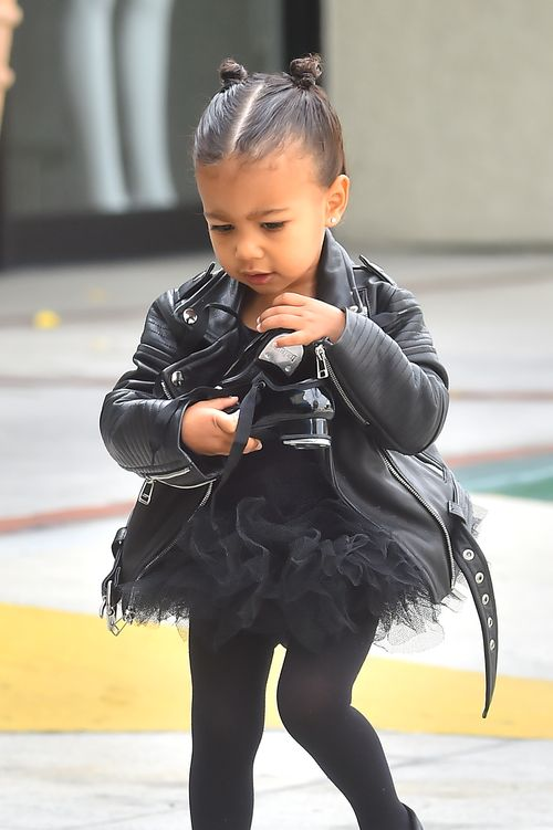 North West kommt vom Ballett...