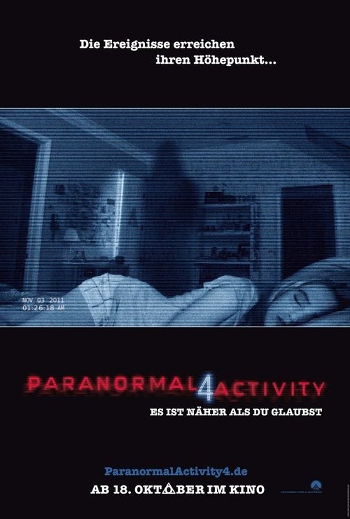 Paranormal Activity 4 startet am 18. Oktober im Kino