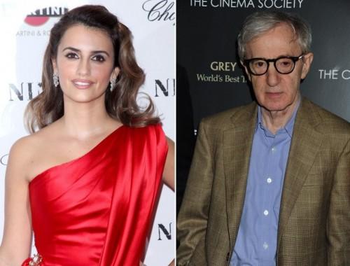Penelope Cruz, Woody Allen, Carla Bruni Sarkozy - Penélope Cruz trabajará otra vez bajo las órdenes de Woody Allen