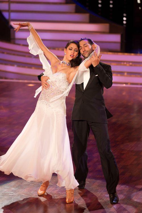 """Rebecca Mir und Massimo Sinato sind seit """"Let's Dance"""" ein Paar"""
