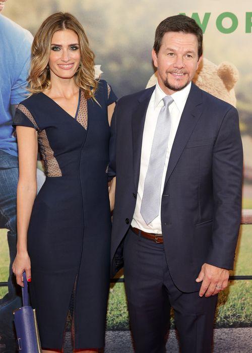 Rhea Durham und Mark Wahlberg sind sehr glücklich
