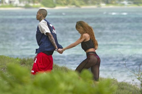 Rihanna und Chris Brown feierten gemeinsam Geburtstag