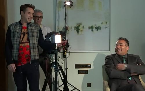 "Robert Downey Jr. brach ein ""The Avenger""-Interview ab"