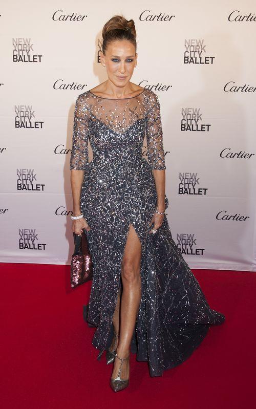 Sarah Jessica Parkers Kleid ist außergewöhnlich