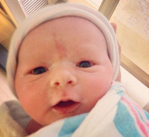 Scott Porters Sohn McCoy Lee Porter ist auf der Welt