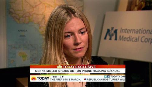 Sienna Miller spricht erstmals über den Abhörskandal