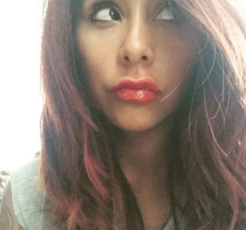 Snooki zeigt ihre neuen Lippen
