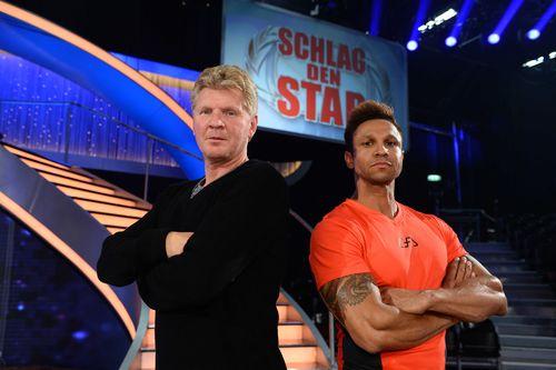 """Stefan Effenberg und Daniel Aminati lieferten sich heute bei """"Schlag den Star"""" das """"Duell der Champions"""""""