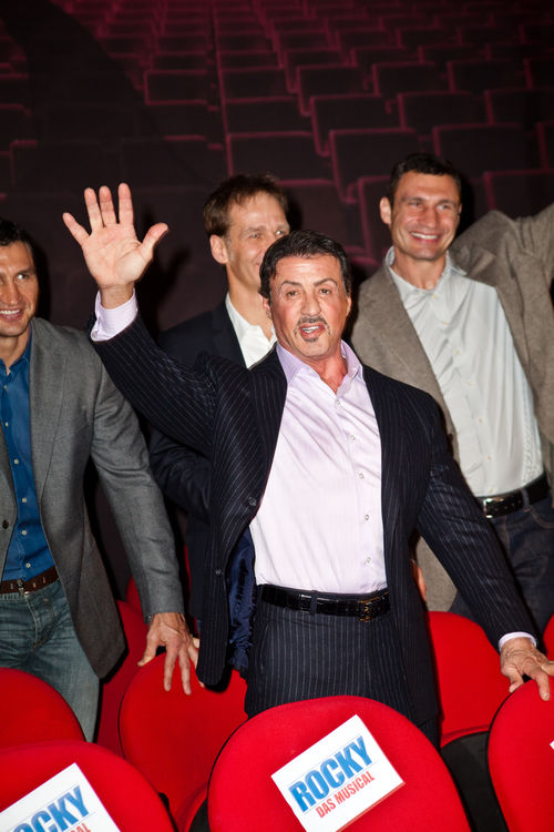 Sylvester Stallone stellte das Rocky-Musical in Hamburg vor