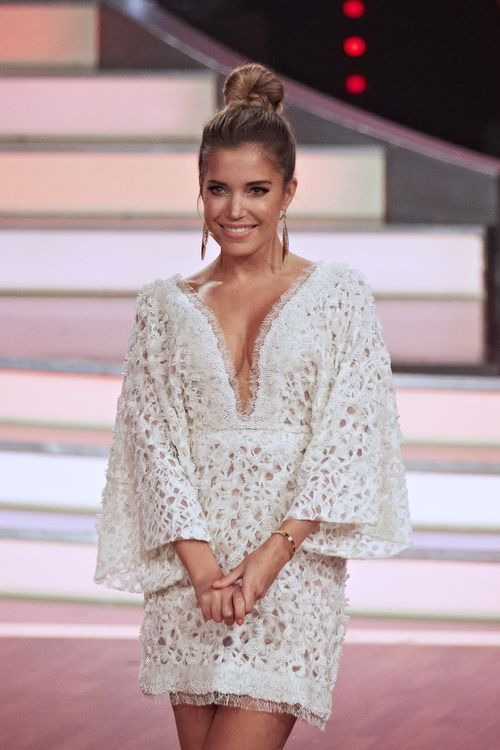 Sylvie Meis bezauberte letzte Woche in einem weißen Kleid