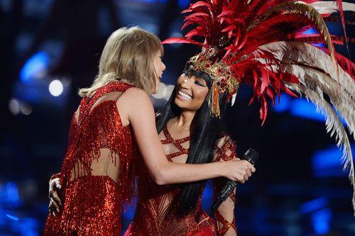 Taylor Swift und Nicki Minaj haben sich vertragen