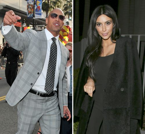 The Rock hat Kim Kardashian vom Thron gestoßen