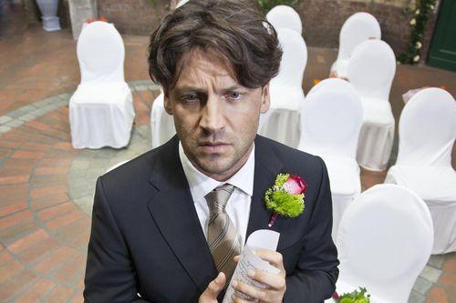 In der Serie hatte Stefan Franz kein glück in der Liebe