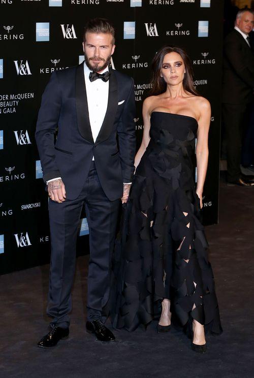 Die Beziehung zwischen David und Victoria Beckham schien lange an einem dünnen Faden  zu hängen