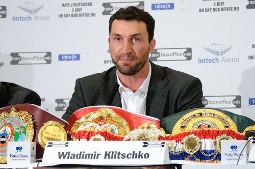 Wladimir Klitschko weiß nicht mehr, wohin mit seinen Titel-Gürteln