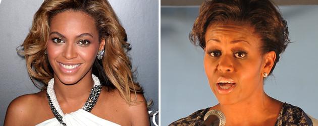 Beyonce und Michelle Obama