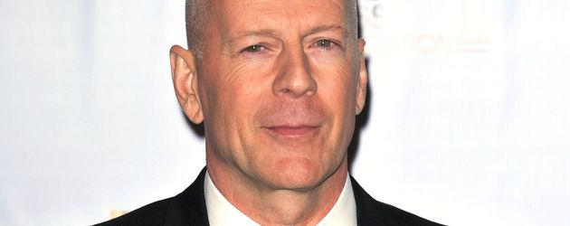 Bruce Willis mit Fliege
