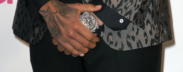 Chris Browns dicke Uhr
