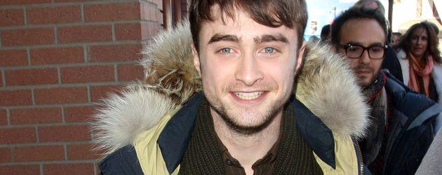 Daniel Radcliffe hat sich warm angezogen