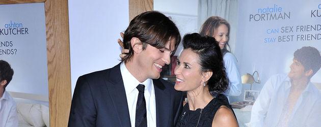 Demi Moore und Ashton Kutcher 2011