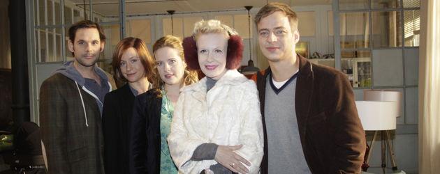 Die Hauptdarsteller von Frisch gepresst mit Diana Amft