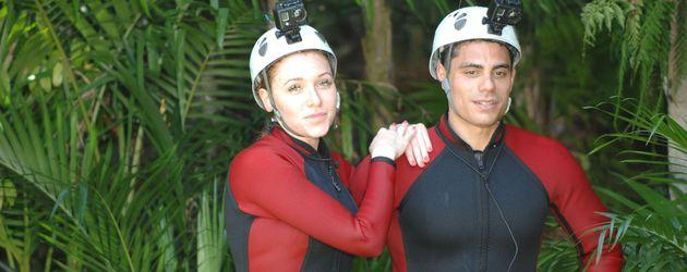 Dschungelcamp 2013 Tag 3: Georgina und Silva bei Dschungelprüfung