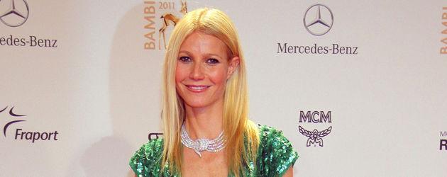 Gwyneth Paltrow grünes Kleid