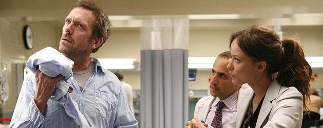 Hugh Laurie und Olivia Wilde in Dr. House