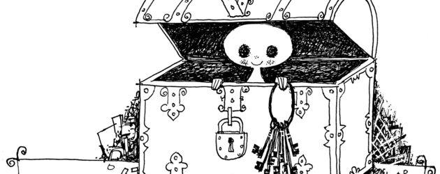 Illustration Das kleine Gespenst